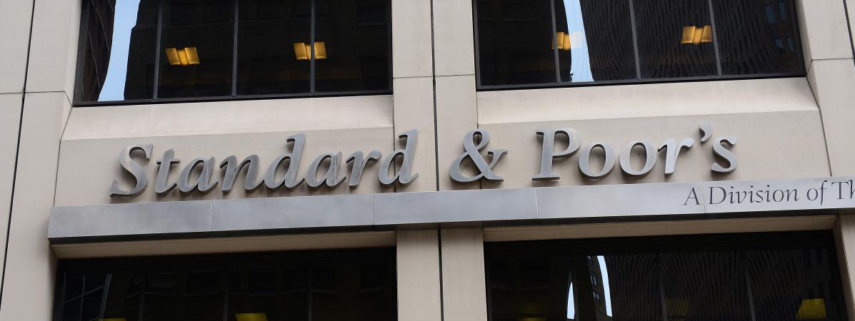 Le siège de l'agence de notation Standard & Poor's à New York, le 18 septembre 2012.
