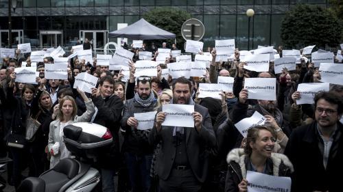Crise à i-Télé : la grève massivement reconduite jusqu'à ce soir, 20 heures