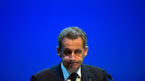 """VIDEO. """"Je vous dirai à la fin de la primaire si je continue la politique"""", déclare Nicolas Sarkozy"""