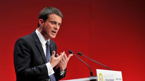 """Présidentielle : Manuel Valls appelle au rassemblement de la gauche et à """"réagir vite"""""""