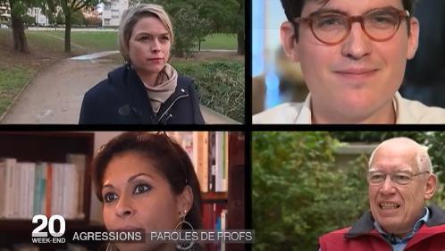 VIDEO. Des professeurs victimes de violences témoignent