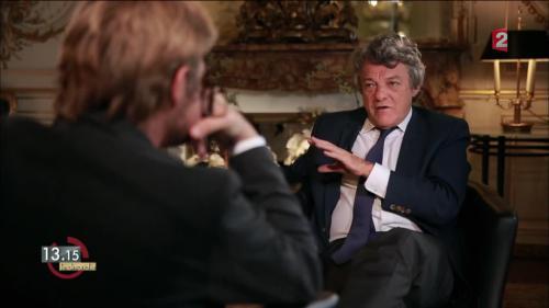 """VIDEO. """"13h15"""". """"La France n'est pas un pays centralisé, mais une monarchie émiettée"""", selon Jean-Louis Borloo"""