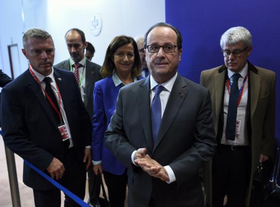 François Hollande lors d'un sommet européen à Bruxelles (Belgique) le 21 octobre 2016.