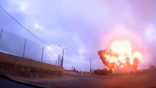 VIDEO. Les images impressionnantes du crash d'avion à Malte