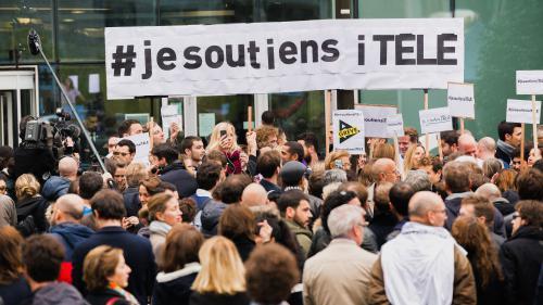 Crise à i-Télé : les salariés votent la poursuite de la grève pour la onzième journée, jusqu'à vendredi à 11 heures