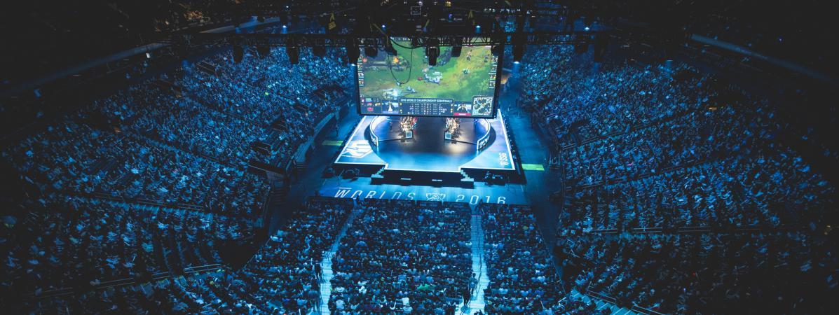 Gr Ce Au Jeu Vid O League Of Legends L 39 E Sport Joue