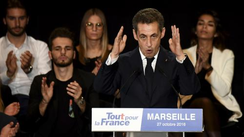 """Les 5 infos de la présidentielle aujourd'hui : le """"ni-ni"""" de Sarkozy, la colère de Valls, Maréchal-Le Pen privée d'antenne..."""