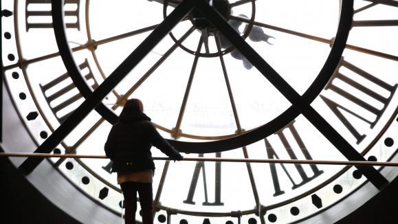 Changement d\'heure aumusée d\'Orsay à Paris