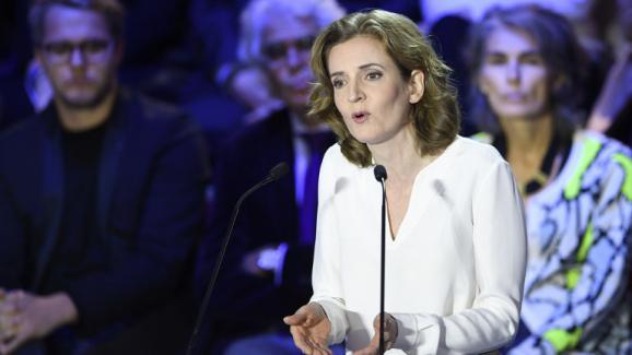 Nathalie Kosciusko-Morizet lors du deuxième débat télévisé entre les candidats à la primaire à droite, le 3 novembre 2016.