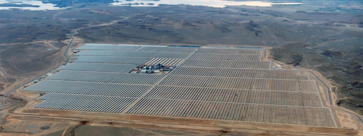 cop22 le maroc veut montrer l 39 exemple avec la plus grande centrale solaire au monde. Black Bedroom Furniture Sets. Home Design Ideas