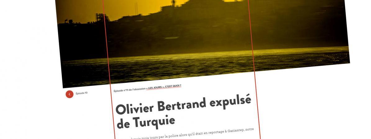 Capture d\'écran du site Internet lesjours.fr