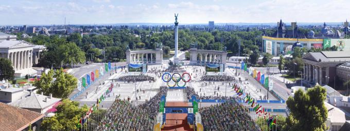 A quoi ressembleraient les jo 2024 budapest - Piscine olympique paris ...