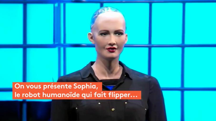 video sophia le robot humano de qui fait un peu peur. Black Bedroom Furniture Sets. Home Design Ideas