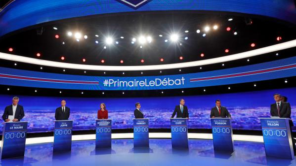 Primaire de la droite : le programme du dernier débat