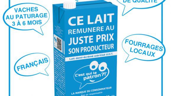 prix lait au litre