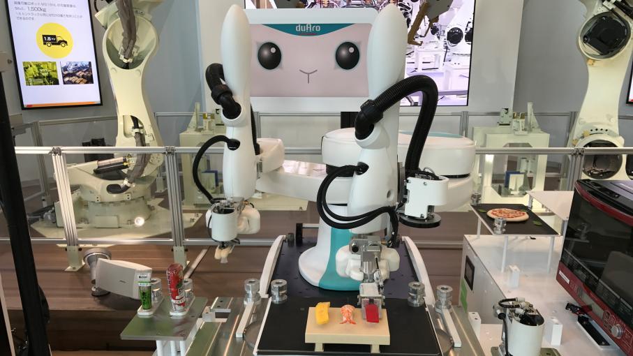 Nouveau monde a tokyo des robots pour remplacer les cuisiniers les h tesses d 39 accueil etc - Robot de cuisine qui cuit ...