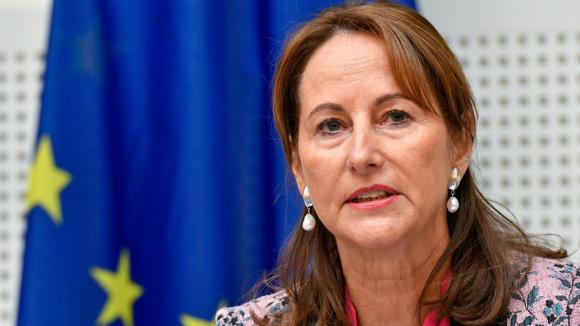 The French minister Ségolène Royal auditioned by the commission of inquiry ISSUED on the polluting emissions of the european Parliament