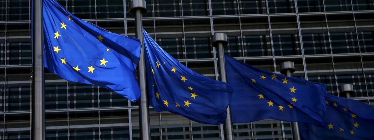 Au siège de la Commission européenne, à Bruxelles.