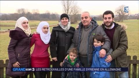 Divisée par la guerre en Syrie, une famille se réunit en Allemagne