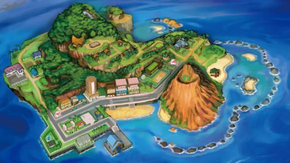 Jeux vid o pok mon soleil et lune un air de vacances - Jeux info pokemon ...