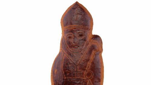 Modèle de Saint-Nicolas en pain d\'épices