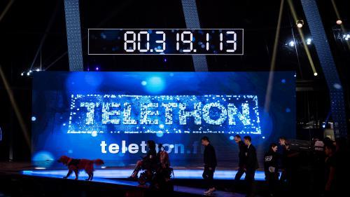 Téléthon : les promesses de dons s'élèvent à 80,31 millions d'euros, en légère hausse par rapport à 2015