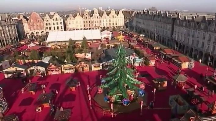 Marché De Noel Arras 2019.Arras Le Marché De Noël Attire 500 000 Visiteurs