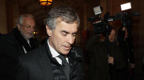 """L'ancien ministre du Budget Jérôme Cahuzac condamné à trois ans de prison ferme pour """"fraude fiscale"""" et """"blanchiment de fraude fiscale"""""""