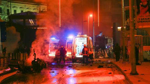 Turquie : deux attaques à la bombe à Istanbul font au moins 13 morts