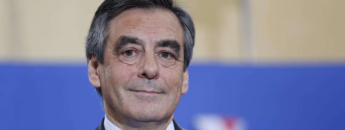 François Fillon, le 27 novembre, à Paris.