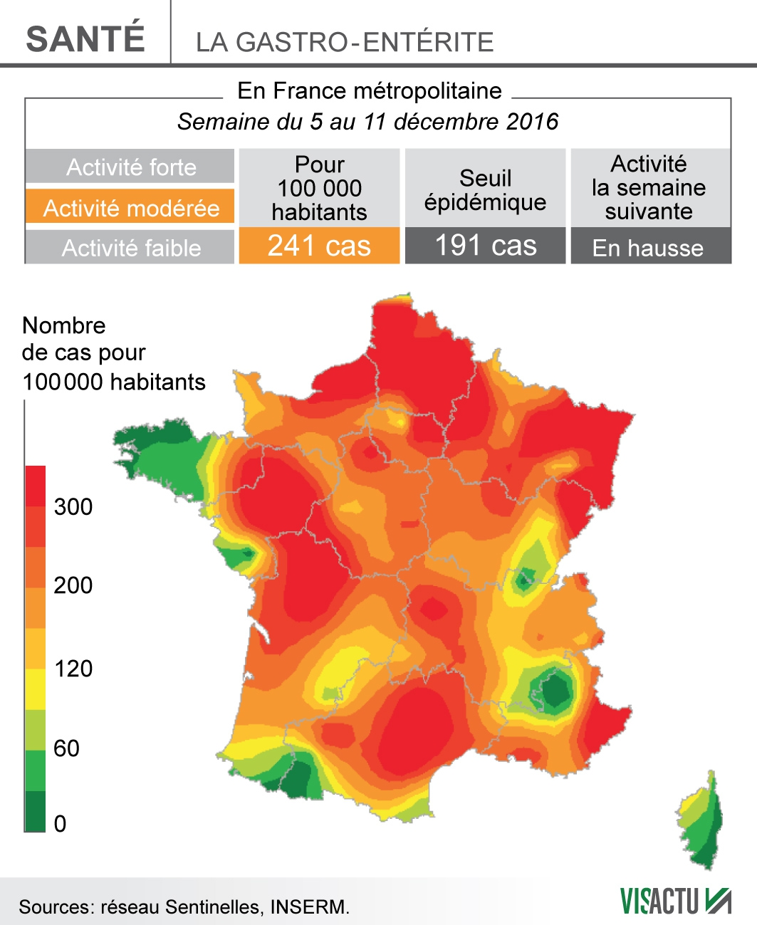 L'épidémie de gastro poursuit sa progression en France