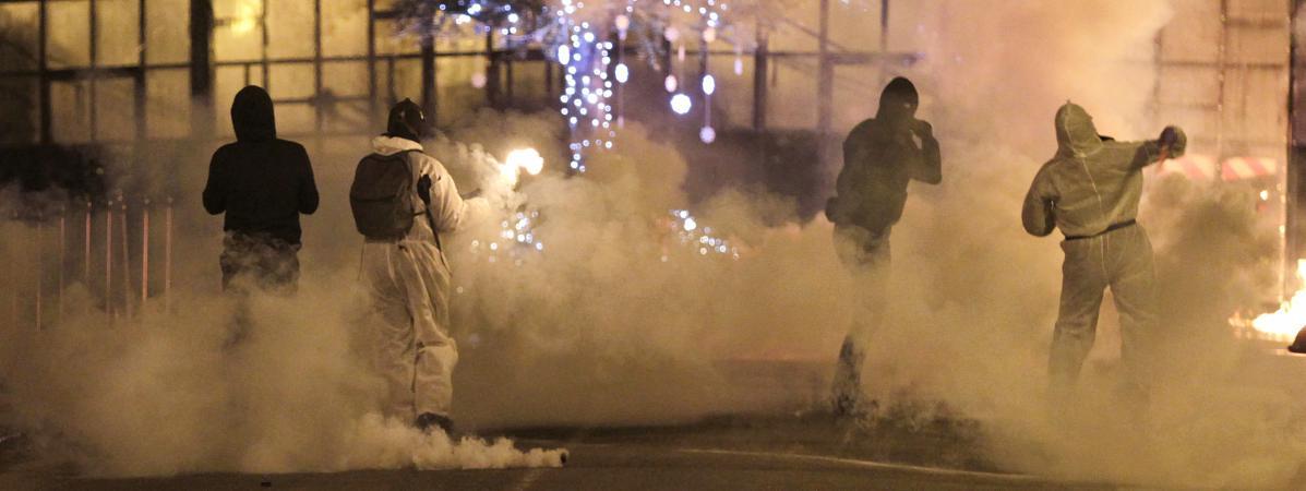 Violents incidents après un rassemblement de soutien à des supporters de Bastia
