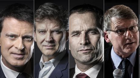 Qui sont les sept candidats à la primaire de la gauche ?