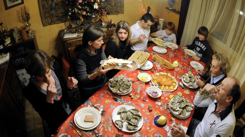 No l derni res courses avant le repas - Repas de noel espagnol ...