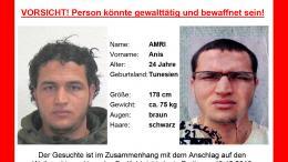 L\'avis de recherche émis par les autorités allemandes, mecredi 21 décembre 2016.