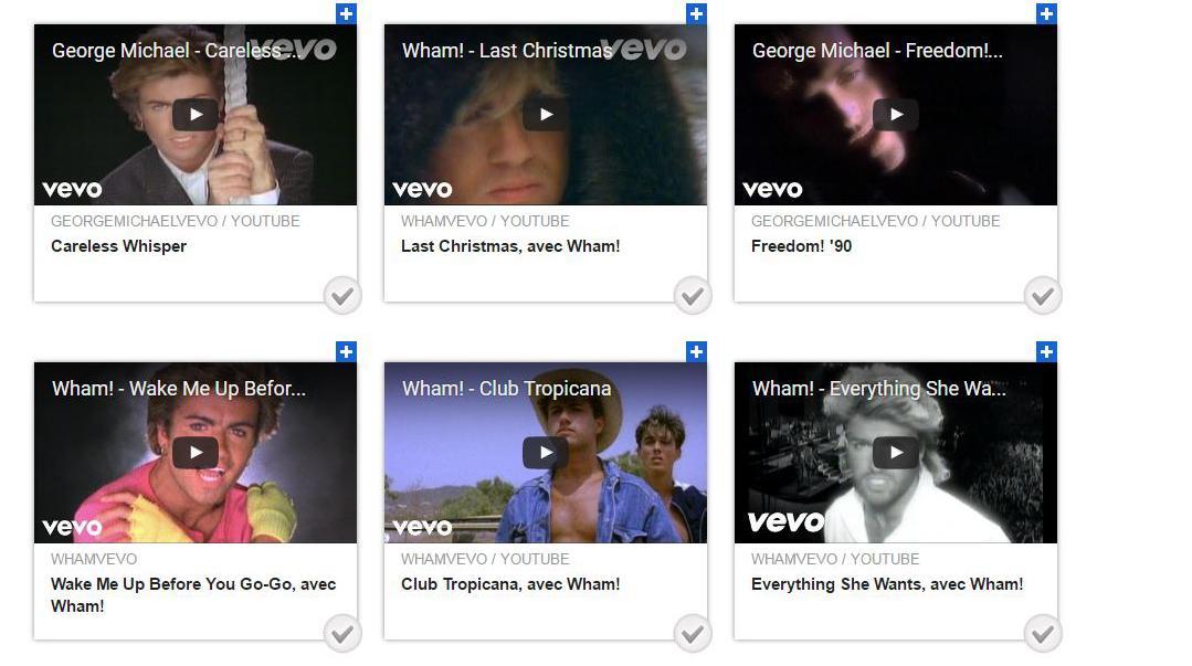 Elisez votre chanson préférée de George Michael