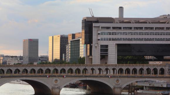 Le bâtiment du ministère des Finances, à Bercy (Paris), le 16 mai 2016.