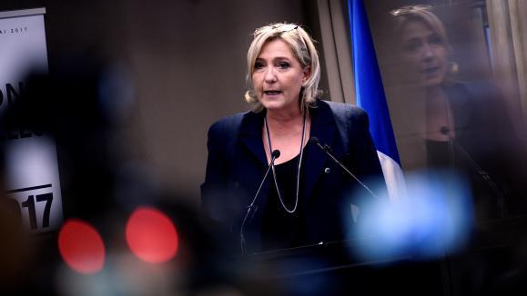 Marine Le Pen présente ses voeux