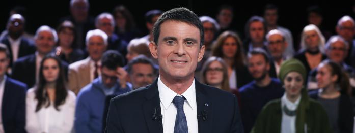 Valls en difficulté, Macron bien placé dans les sondages, Hamon et le revenu universel...