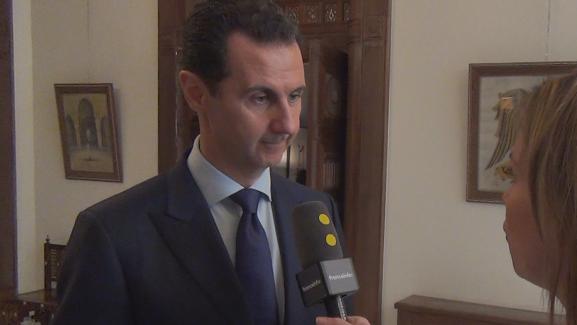 Pour la première fois depuis la reprise d\'Alep par le régime de Damas, le président syrien a accordé un entretien à trois médias français dont franceinfo