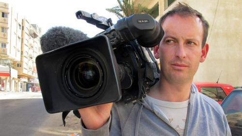 Une esplanade inaugurée en mémoire de Gilles Jacquier, reporter tué en Syrie