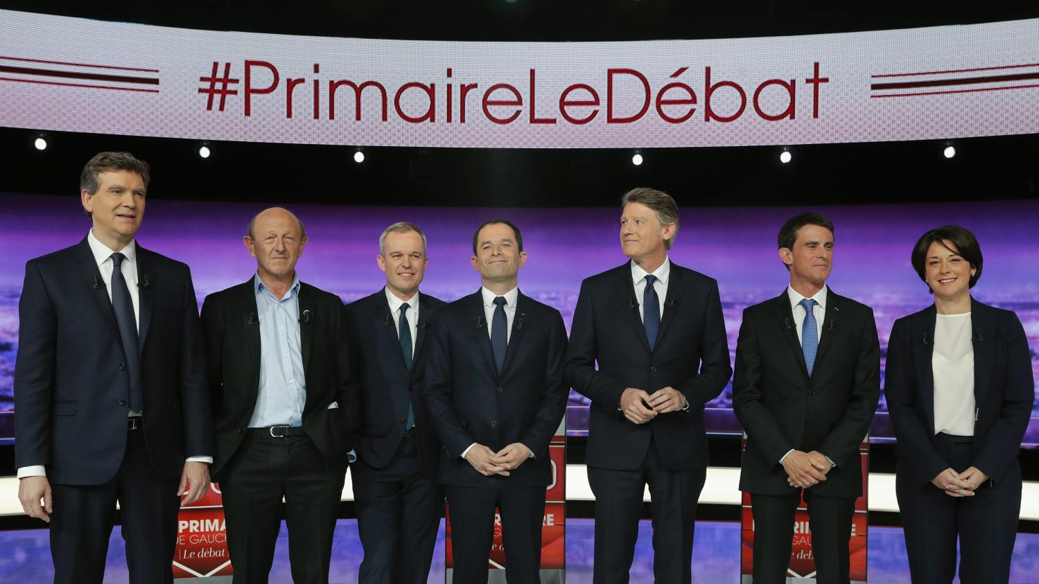 0727d2d690dd Primaire de la gauche   revivez le premier débat entre les sept candidats
