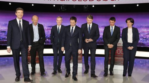 Hamon, Montebourg, Peillon, Valls... leurs hauts et leurs bas du débat