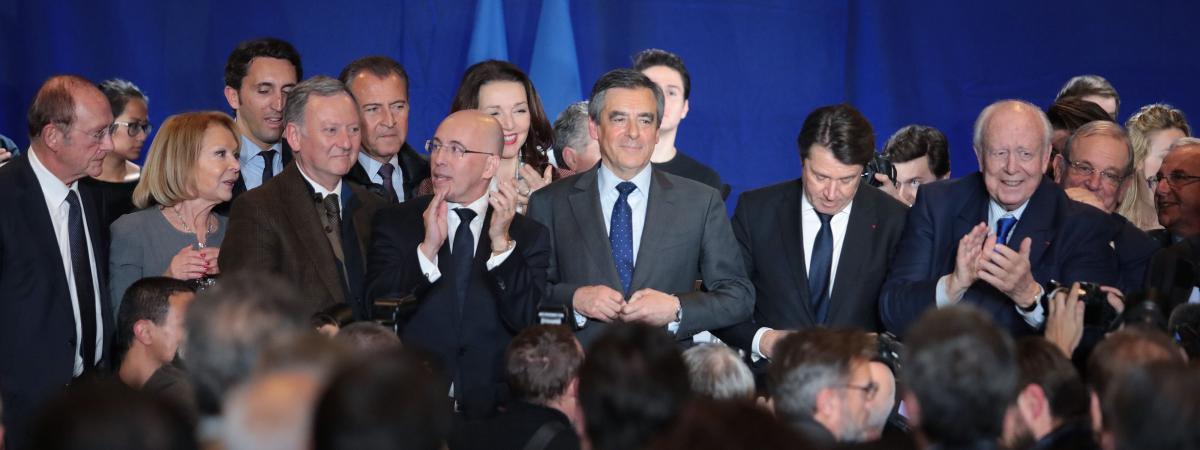 François Fillon en meeting à Nice (Alpes-Maritimes), le 11 janvier 2017