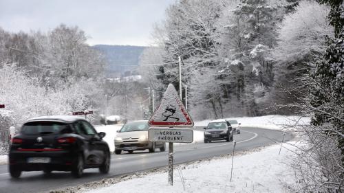 VIDEO. La neige s'installe en France et en Europe