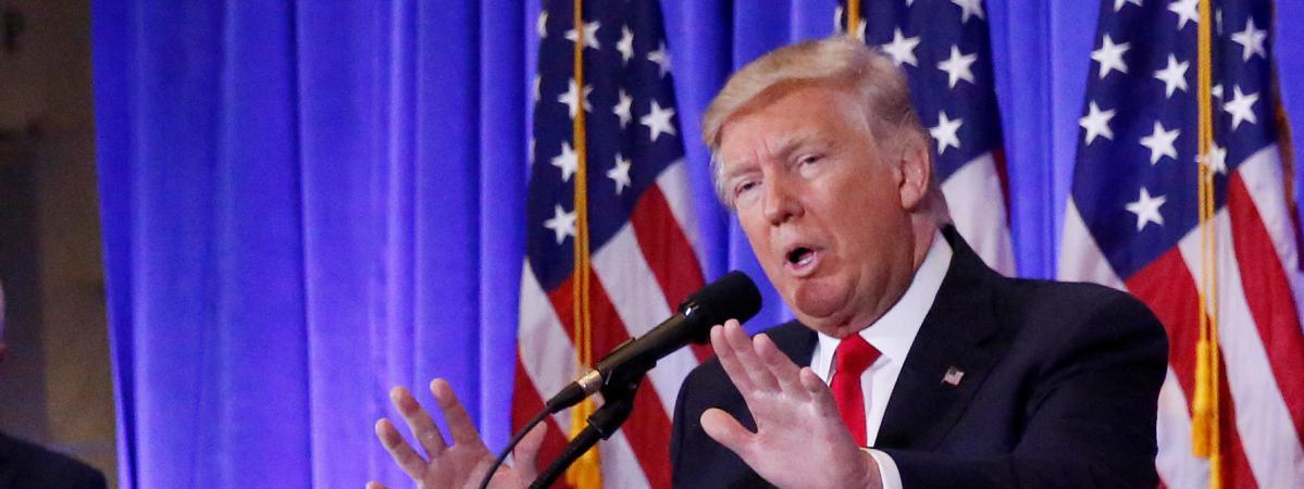 Le président américain élu, Donald Trump, a relancé la polémique, lundi 16 janvier, dans des entretiens à la presse européenne.