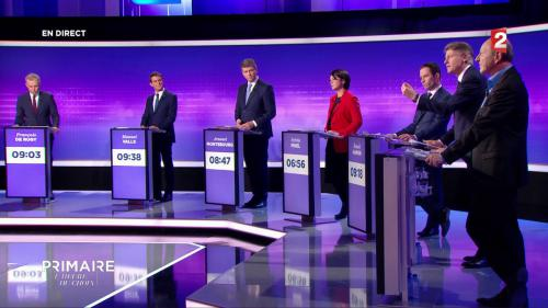 REPLAY. Primaire de la gauche : revivez le dernier débat entre les candidats sur France 2