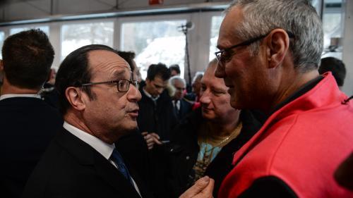 """Primaire de la gauche : Hollande tacle la """"taxe robots"""" prônée par Benoît Hamon"""