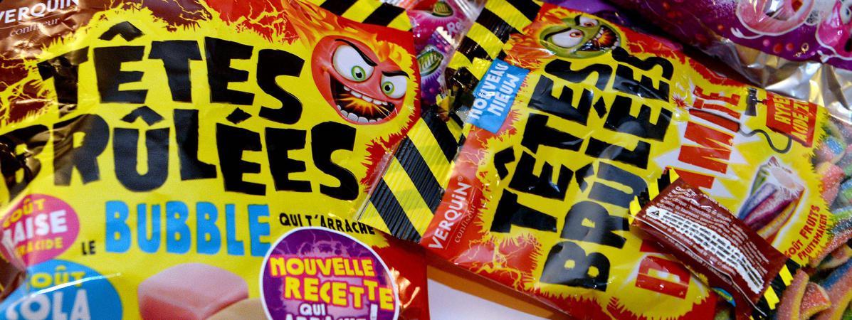 Dioxyde de titane dans les bonbons : l'Inra pointe des troubles du système immunitaire