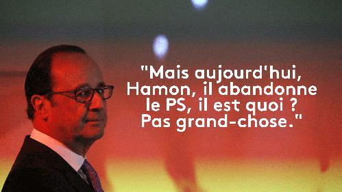 EN IMAGES. Quand la gauche dézingue Benoît Hamon